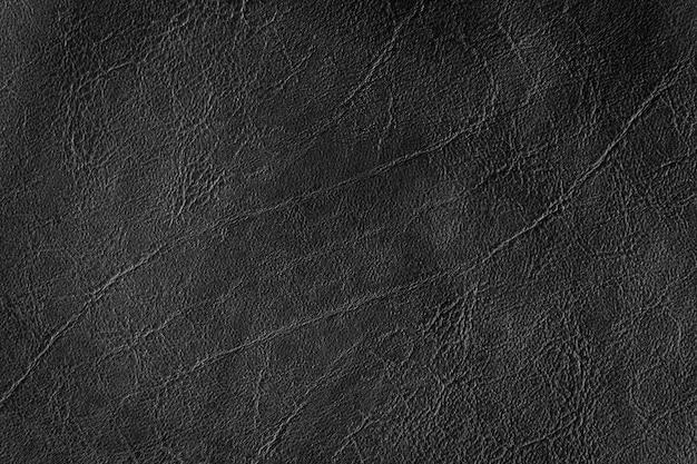 Zwart leer textuur en achtergrond