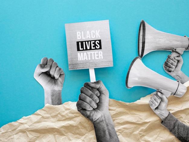 Zwart leven is belangrijk concept