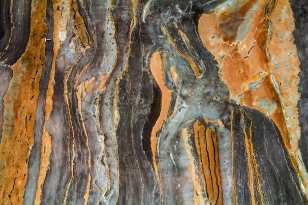 Zwart marmer abstract patroon als achtergrond met hoge resolutie.