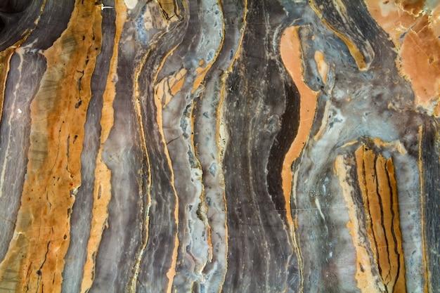 Zwart marmer abstract patroon met hoge resolutie. wijnoogst of grunge van textuur van de natuursteen de oude muur.