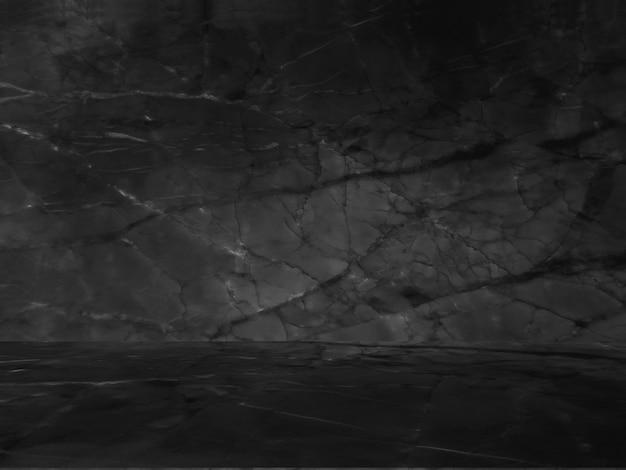 Zwart marmer natuurlijk patroon voor achtergrond, abstract zwart en wit