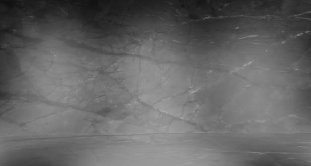 Zwart marmer natuurlijk patroon voor achtergrond abstract zwart en wit