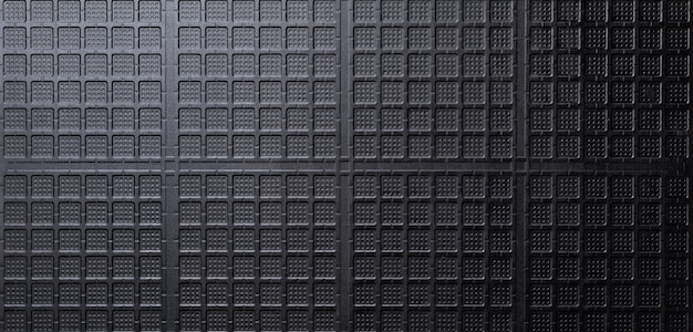 Zwart patroon keramische textuur achtergrond