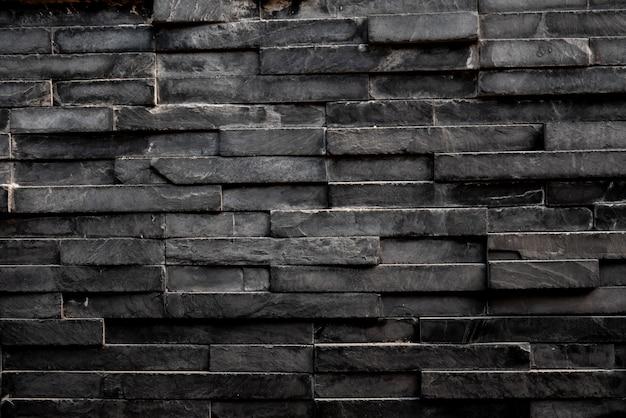 Zwart rechthoek vierkant tegelachtergrond & behang