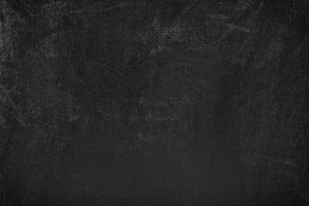 Zwart schoolbord met krijtsporentextuur