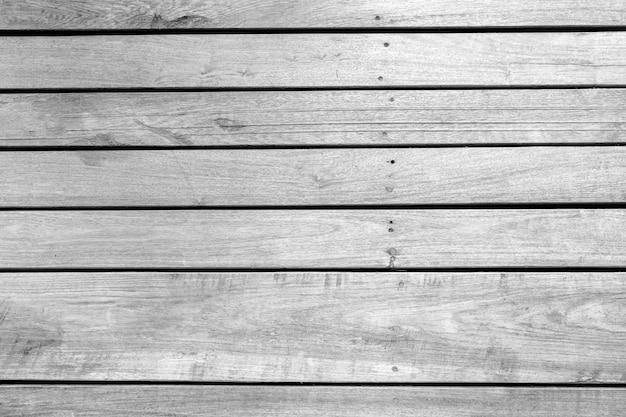 Zwart-wit hout patroon en textuur voor achtergrond. close-up beeld.