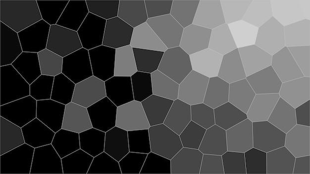 Zwart-wit mozaïek abstracte textuur achtergrond, patroon achtergrond van gradiënt behang