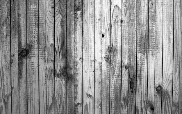 Zwart-wit patroon van oud hout