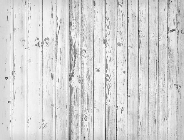 Zwart-wit textuur van lege houten planken.
