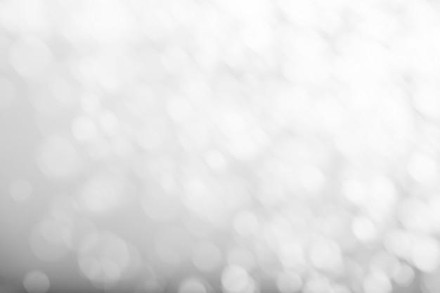 Zwart-witte bokehachtergrond
