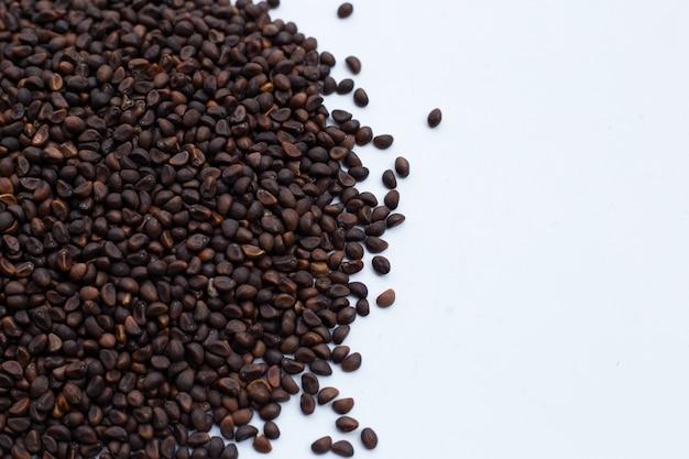 Zwart zaad van ochtendglorie