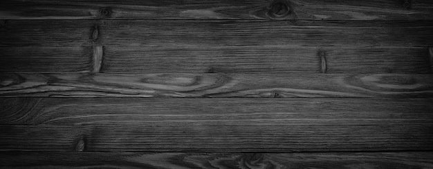 Zwarte achtergrond leeftijd houtstructuur naadloze achtergrond, donkere houten tafel