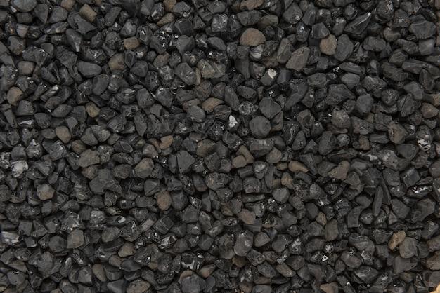 Zwarte asfalt patroon textuur achtergrond