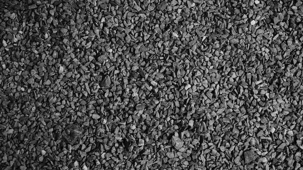 Zwarte asfaltsteen