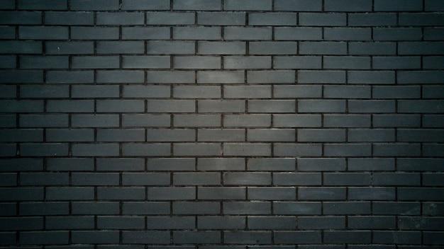 Zwarte bakstenen muurtextuur