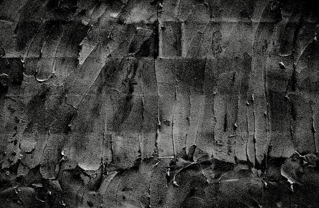 Zwarte betonnen muur textuur achtergrond grunge cement patroon achtergrond textuur textuur.
