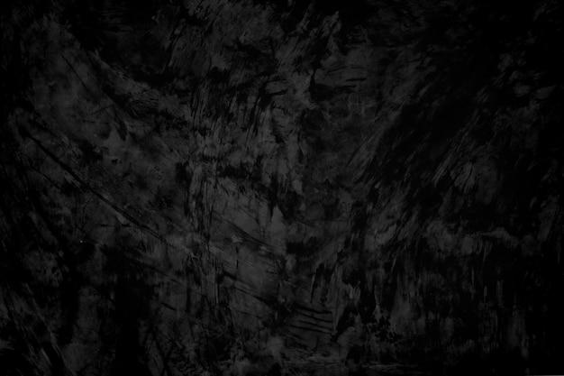 Zwarte betonnen muur textuur achtergrond