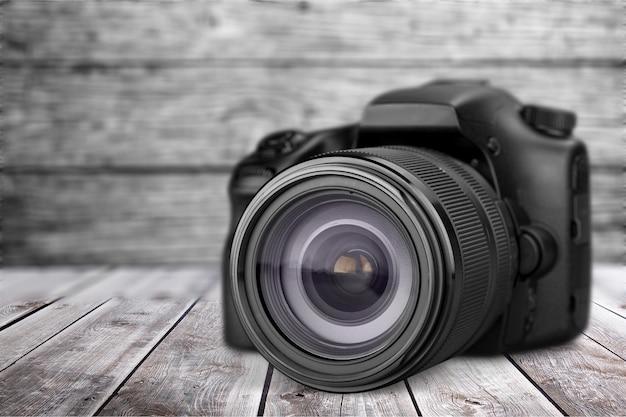 Zwarte camera