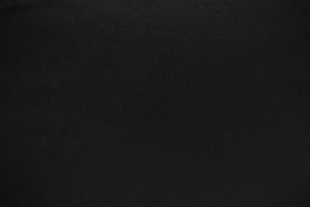 Zwarte canvas textuur achtergrond.
