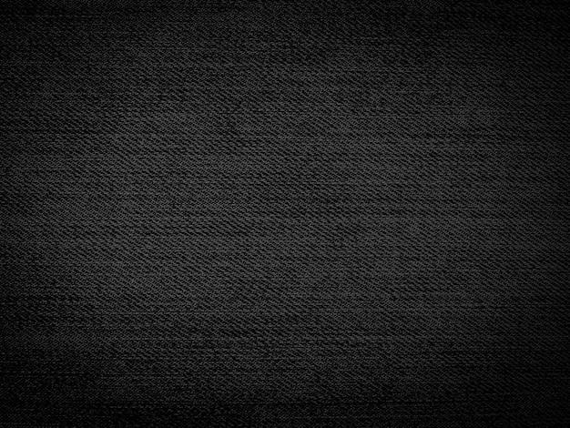 Zwarte denim textuur, jeans achtergrond, voor ontwerp