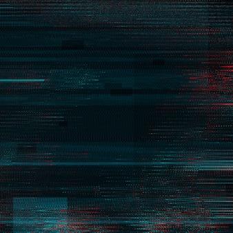 Zwarte glitch effect textuur achtergrond
