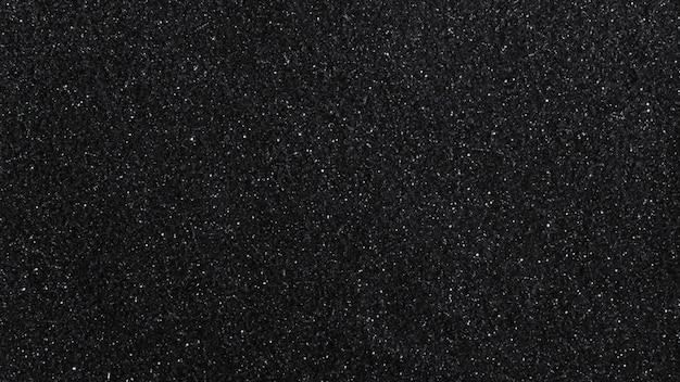Zwarte glitterachtige gestructureerde achtergrond