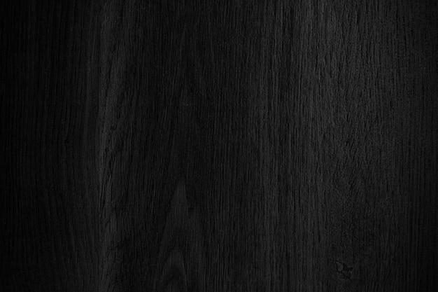 Zwarte houten muur met textuurachtergrond