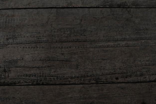 Zwarte houten plank gestructureerde achtergrond