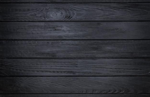 Zwarte houten planken achtergrond