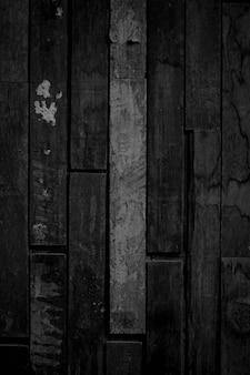 Zwarte houtstructuur donkere houten achtergrond met ruimte voor het ontwerpen van uw werk