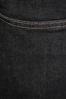 Zwarte jeanstextuur voor elke achtergrond
