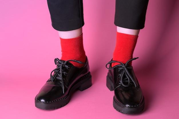 Zwarte klassieke schoenen