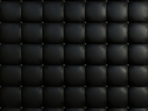 Zwarte kleur sofa textuur.
