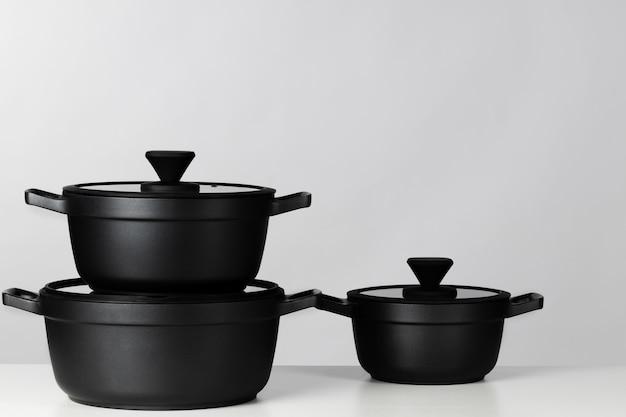 Zwarte kookpotten