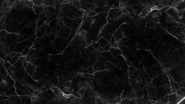 Zwarte marmeren textuur en achtergrond.