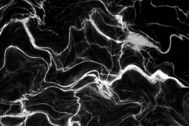 Zwarte marmeren textuur met natuurlijk patroon voor achtergrond of ontwerpkunstwerk.