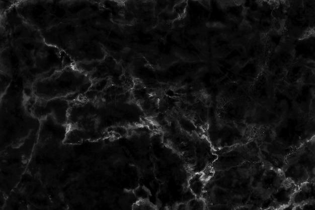 Zwarte marmeren textuurachtergrond met hoge resolutie voor binnen of buiten