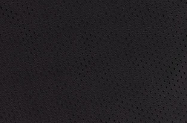 Zwarte mesh sport slijtage stof textiel achtergrond