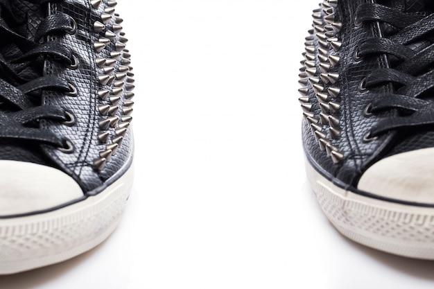 Zwarte mode gumshoes