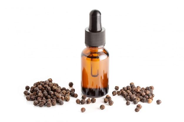 Zwarte peper etherische olie