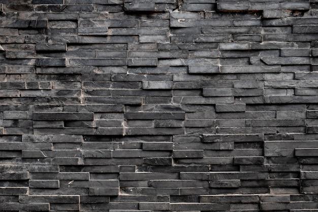 Zwarte rechthoek vierkante tegel achtergrond
