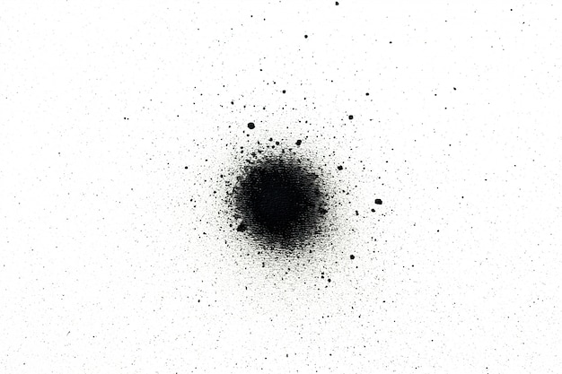 Zwarte spuitverf