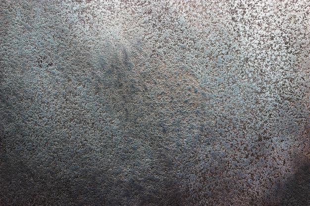 Zwarte stalen plaat textuur