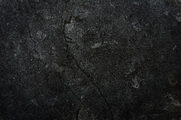 Zwarte stenen achtergrond. cement, beton grunge. donkergrijze muur textuur.