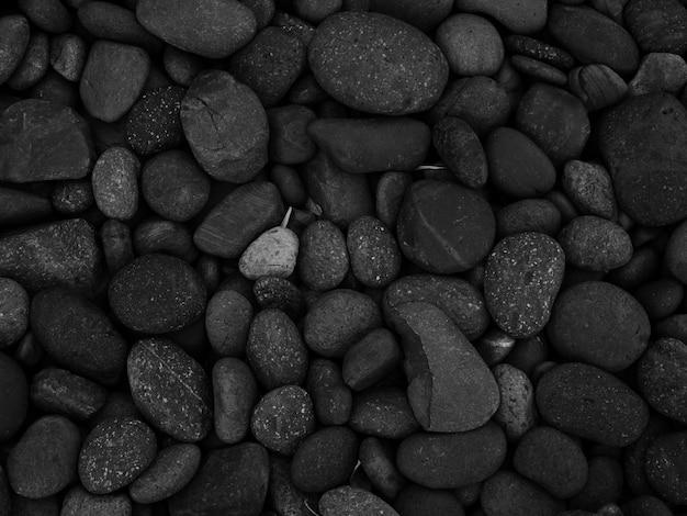 Zwarte stenen achtergrond