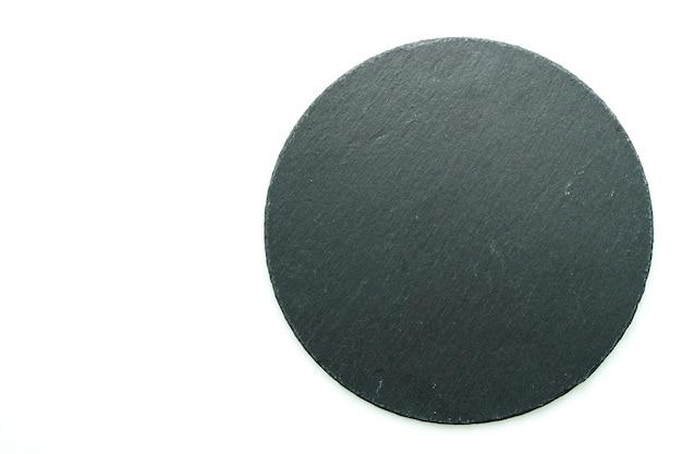 Zwarte stenen leisteen