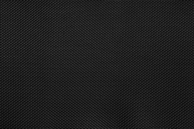 Zwarte stof texure patroon achtergrond