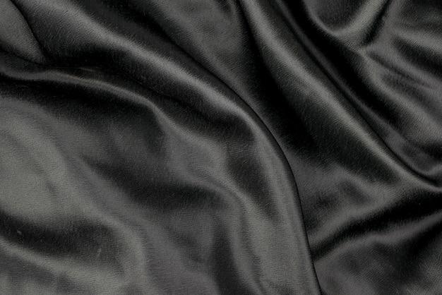 Zwarte van de stoffendoek textuur als achtergrond