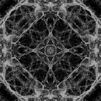 Zwarte vloertegels met een patroon van marmer in de natuur