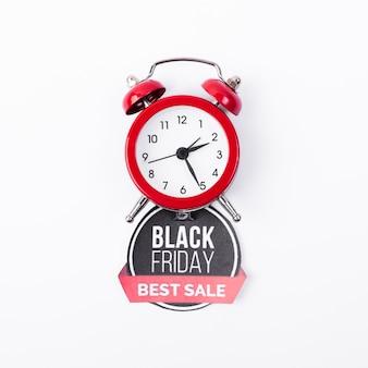 Zwarte vrijdag beste verkoop met wekker